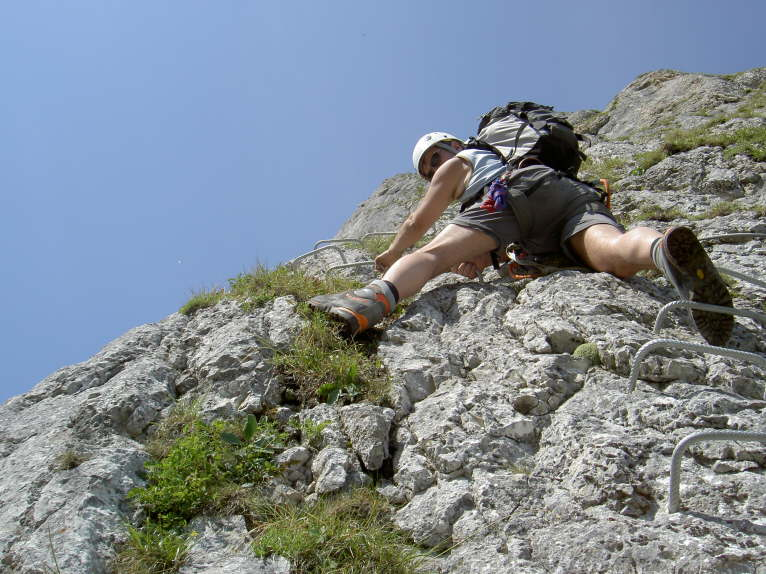 Klettersteig Gantrisch : Klettersteig gantrisch